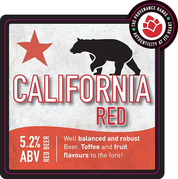 Hydes Beer California Red