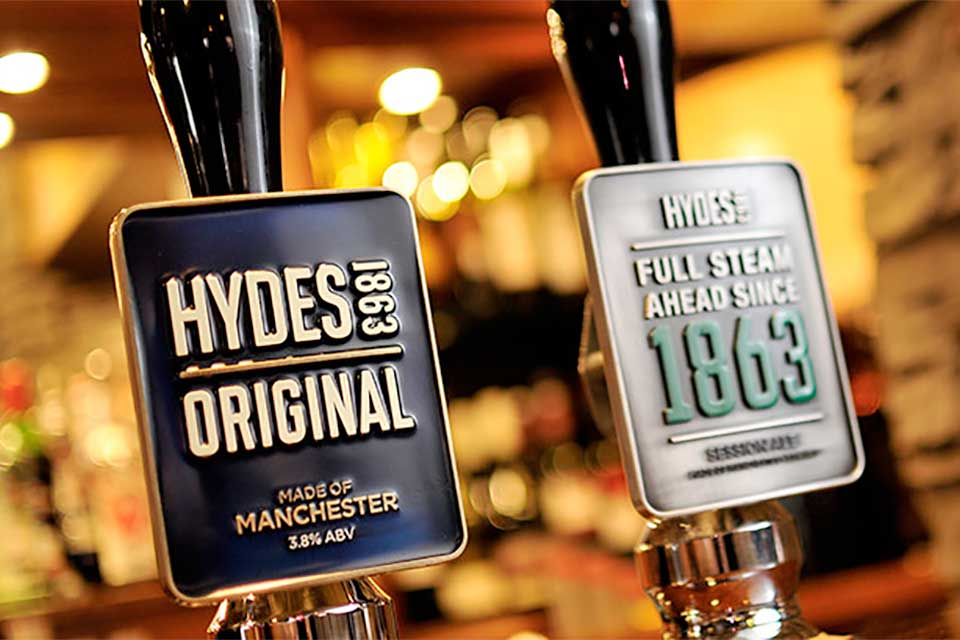 Hydes Beers - Made of Manchester