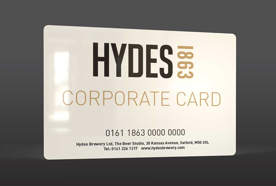 Hydes Corporate Card