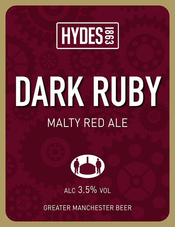 Hydes Dark Ruby - A Malty Red Ale