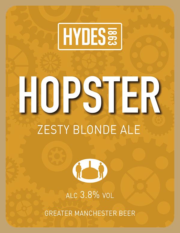 Hydes Hopster - A Zesty Blonde Ale