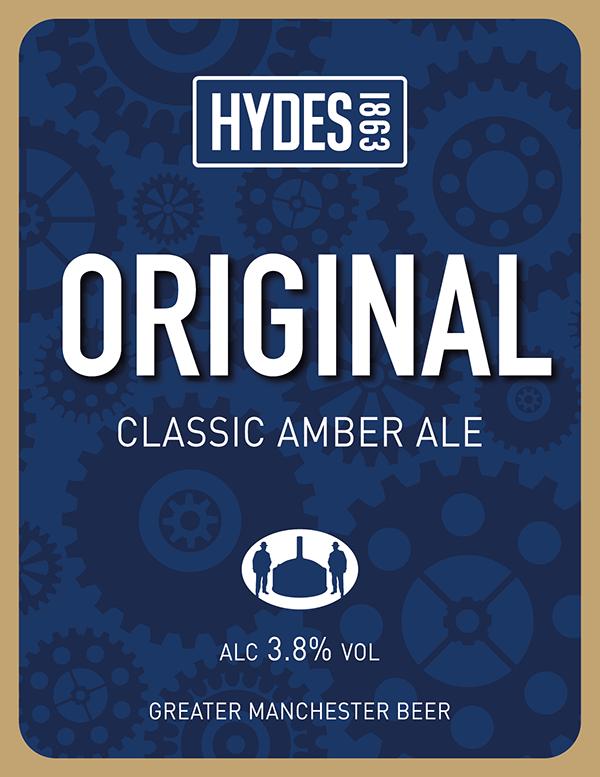 Hydes Original - A Classic Amber Ale